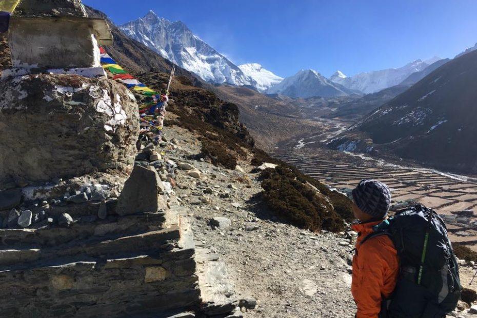 Chorten in Everest Base Camp Trek
