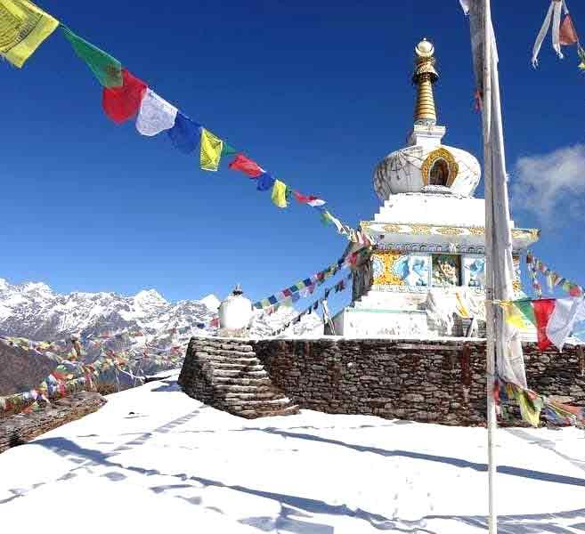 Ama Yangri peak from Helambu, Nepal