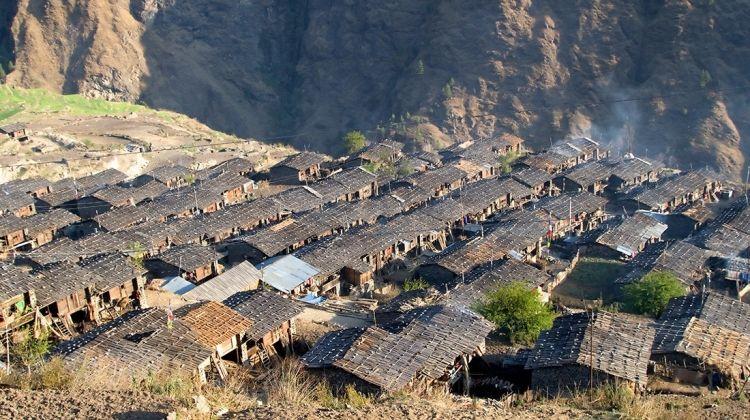 Tamang village of Langtang